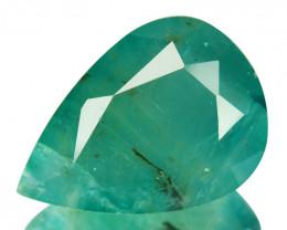 ~RARE~ 11.20 Cts Natural Bluish Green Grandidierite Pear Cut Madagascar