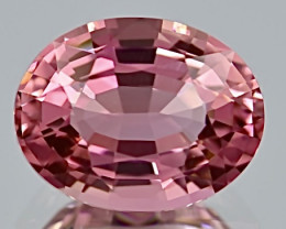 5.30 ct Pink Tourmaline With Excellent Luster And Fine Cutting  Gemstone