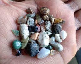 200 Ct mix lot of Natural Tumbled Gemstones VA3832