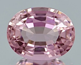 5.53 ct Baby Pink Tourmaline With Excellent Luster And Fine Cutting  Gemsto