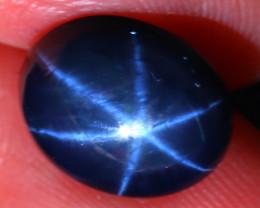 Star Sapphire 5.45Ct Natural 6 Rays Blue Star Sapphire D2107/A39