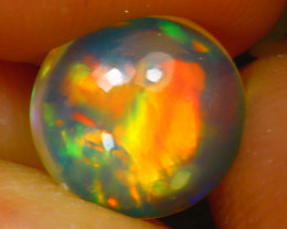 Welo Opal 1.22Ct Natural Ethiopian Play of Color Opal D2118/A28