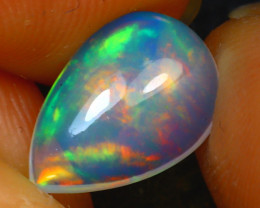 Welo Opal 1.14Ct Natural Ethiopian Play of Color Opal D2120/A28
