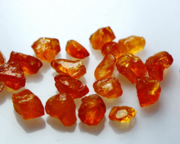 NR!! 24.10 CTs Natural & Unheated~ Orange Garnet Rough Lot