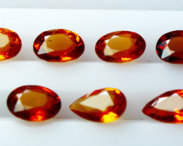 NR!! 4.10 CTs Natural & Unheated~ Orange Garnet Gemstone Lot