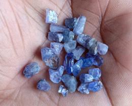 25 Ct Natural Tanzanite Genuine Rough Gemstone Parcel VA3866