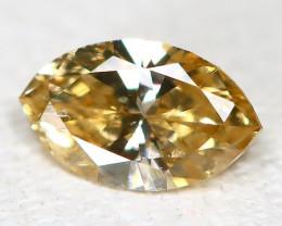 Orange Diamond 0.14Ct Natural Untreated Genuine Fancy Diamond B624