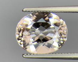3.20 Cts  Natural Brazil  Morganite Gemstone