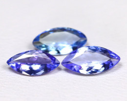 Tanzanite 1.09Ct VS Marquise Cut Natural Purplish Blue Tanzanite Lot B1817