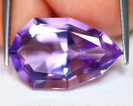 Amethyst 8.63Ct VVS Pear Cut Natural Bolivian Purple Amethyst C1801