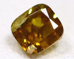 Greenish Yellow Diamond 0.21Ct Natural Genuine Fancy Diamond C1803