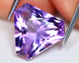 Amethyst 4.92Ct VVS Master Cut Natural Bolivian Purple Amethyst C1804
