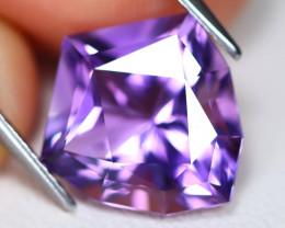 Amethyst 5.24Ct VVS Fancy Cut Natural Bolivian Purple Amethyst C1807