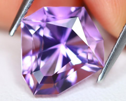 Amethyst 3.91Ct VVS Fancy Cut Natural Bolivian Purple Amethyst C1816