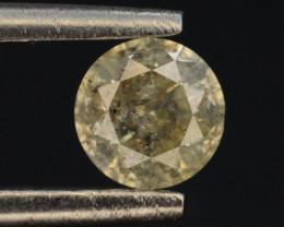Brillient  Color 0.35 ct Natural Diamond