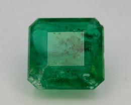 1.05 ct Natural Vivid Green Color Emerald~Swat