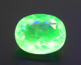 Hyalite Opal 1.24 ct Absolute Rare Fluorescent Asutralia SkU-3