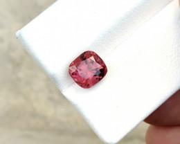 2.05 Ct Natural Red Transparent Rubellite Tourmaline Gemstone