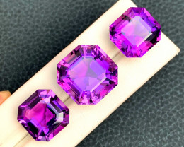 Amethyst Loose Gemstones from Afghanistan ~ 93.70 Carats