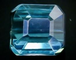 0.64 Crt Natural Tourmaline Faceted Gemstone.( AB 88)