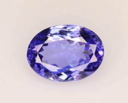 AAA Grade 1.45 ct Tanzanite eye catching Color ~ K