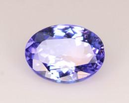 AAA Grade 1.50 ct Tanzanite eye catching Color ~ K