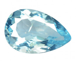 *NoReserve*Aquamarine 1.80 Cts Blue Natural Gemstone