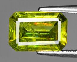 3.03 CT SPHENE WITH DRAMATIC FIRE GEMSTONE SG1