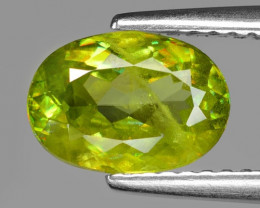 1.52 CT SPHENE WITH DRAMATIC FIRE GEMSTONE SG8