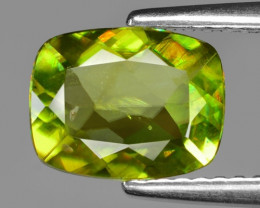 1.55 CT SPHENE WITH DRAMATIC FIRE GEMSTONE SG9