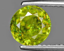 1.64 CT SPHENE WITH DRAMATIC FIRE GEMSTONE SG14