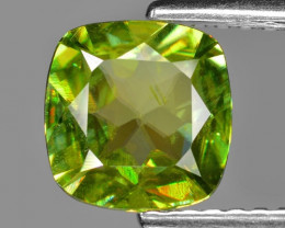 0.98 CT SPHENE WITH DRAMATIC FIRE GEMSTONE SG15