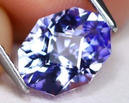 Tanzanite 1.91Ct VVS Master Cut Natural Purplish Blue Tanzanite C1901