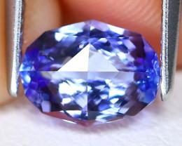 Tanzanite 1.52Ct VVS Master Cut Natural Purplish Blue Tanzanite C1913