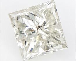 0.29 cts , Princess Cut Diamond , Rare Natural Diamond