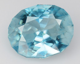 2.20 Cts Natural Zircon Exceptional Color ~ Cambodia ZR 2