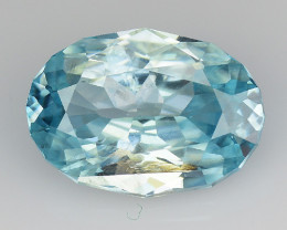 2.33 Cts Natural Zircon Exceptional Color ~ Cambodia ZR5