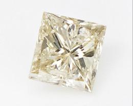0.29 CTS, Princess Cut Diamond , Rare Natural Diamond