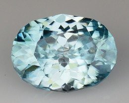 2.49 Cts Natural Zircon Exceptional Color ~ Cambodia ZR11