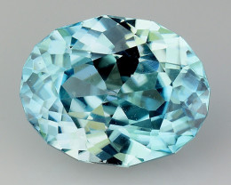 2.44 Cts Natural Zircon Exceptional Color ~ Cambodia ZR14