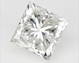 0.23 cts  , Princess Cut Diamond , Rare Natural Diamond