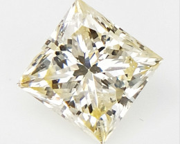 0.23 CTS , Princess Cut Diamond , Rare Natural Diamond