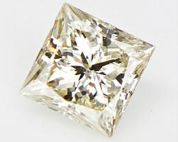 0.21 CTS , Princess Cut Diamond , Rare Natural Diamond