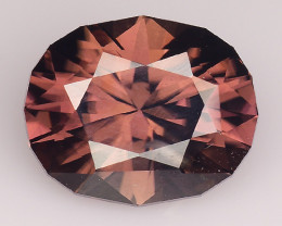 2.60 Cts Natural Zircon Exceptional Color ~ Cambodia ZR29