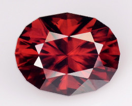 2.29 Cts Natural Zircon Exceptional Color ~ Cambodia ZR31