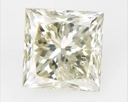 0.19 cts , Princess Cut Diamond , Rare Natural Diamond