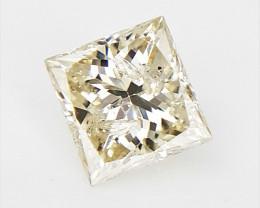 0.17 cts , Princess Cut Diamond , Rare Natural Diamond
