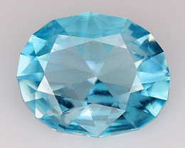 1.08 Cts Natural Zircon Exceptional Color ~ Cambodia ZR43