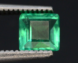 AAA Grade 0.70 Ct Natural Zambian Emerald