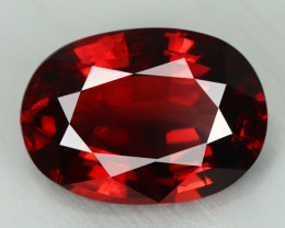 4.730 CT NATURAL UNHEATED RED PYROPE GARNET